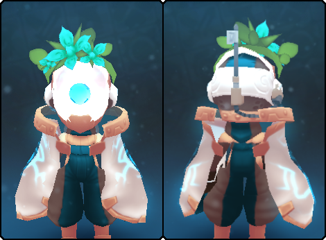 Pearl Node Slime Mask in its set