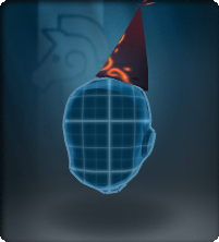 Volcanic Party Hat-Equipped.png