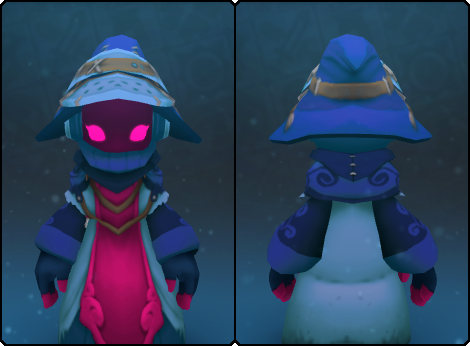 Sapphire Stranger Cap in its set