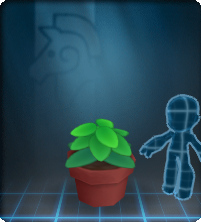 Furniture-Green Potted Plant.png