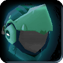 Equipment-Turquoise Crescent Helm icon.png
