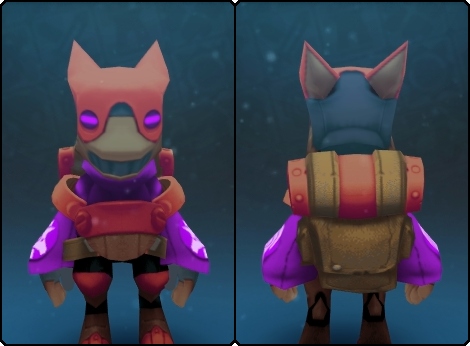 Toasty Gremlin Suit in its set