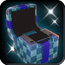 Usable-Blue Checkered Gift Box (Empty) icon.png
