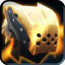 Equipment-Gold Wolf Helm icon.png
