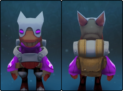 Heavy Gremlin Suit in its set