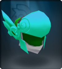 Tech Blue Winged Helm