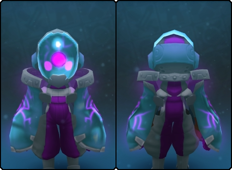 Cool Node Slime Mask in its set