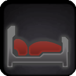 Furniture-Spiral Red Bed icon.png