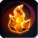 Rarity-Glowing Fire Crystal icon.png