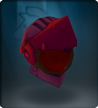 Ruby Crescent Helm