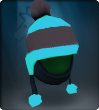 ShadowTech Blue Pompom Snow Hat-Equipped.png