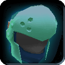Equipment-Turquoise Round Helm icon.png