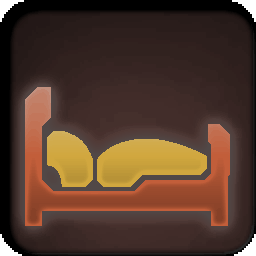 Furniture-Copper Yellow Bed icon.png