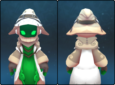 Pearl Stranger Cap in its set
