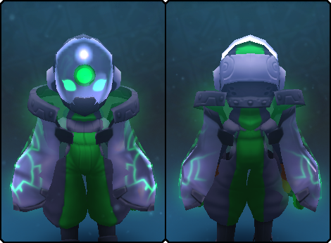 Fancy Node Slime Mask in its set
