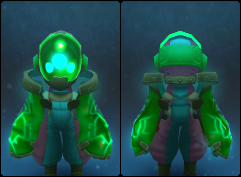 Emerald Node Slime Guards in its set