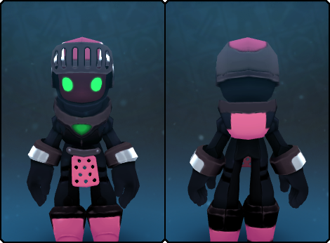 ShadowTech Pink Aero Helm in its set