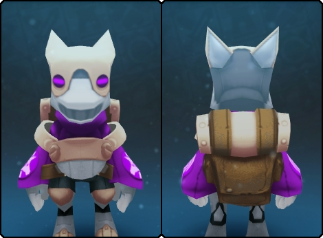 Divine Gremlin Suit in its set