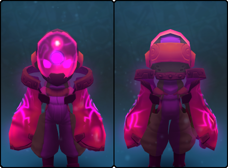 Garnet Node Slime Mask in its set