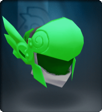 Tech Green Winged Helm
