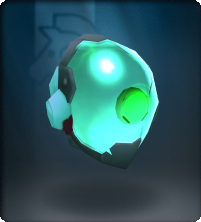 Aquamarine Node Slime Mask