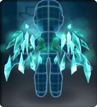 Aquamarine Disciple Wings