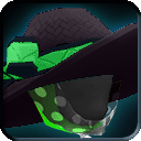 ShadowTech Green Floppy Beach Hat