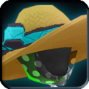 Equipment-Tech Blue Straw Floppy Beach Hat icon.png
