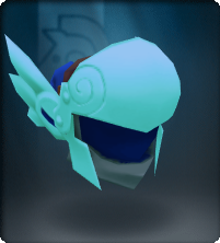 Aquamarine Winged Helm