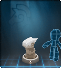 A statuesque figurine, ideal for use in a board game.