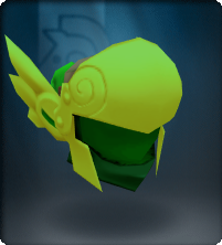 Peridot Winged Helm