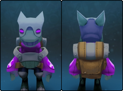 Dusky Gremlin Suit in its set