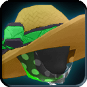 Equipment-Tech Green Straw Floppy Beach Hat icon.png