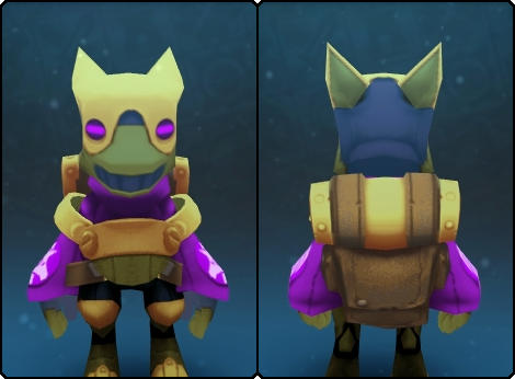 Regal Gremlin Suit in its set