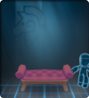 Furniture-Purple Antique Bench.png