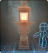 Furniture-Orange Tall Gaslamp.png