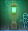 Furniture-Green Tall Gaslamp.png